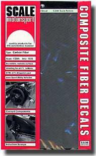 Scale Motorsport  1/20 '80 Carbon Fiber Decals/Pewter SMO1020
