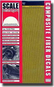 Scale Motorsport  1/12 '80 Kevlar Decals/Yellow SMO1312