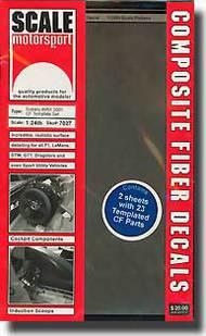 Scale Motorsport  1/24 Subaru WRX 2001 Template Composite Fiber SMO7027