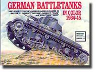 Schiffer Publishing   N/A German Battle Tanks In Color 1934-45 SFR0208