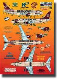 Skyline Models  1/200 Boeing 737 Western Pacific Broadmoor SKY20031