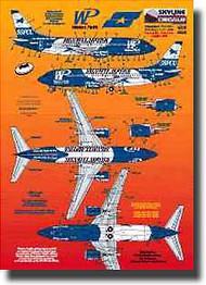 Skyline Models  1/200 Boeing 737 Western Pacific Security SKY20033