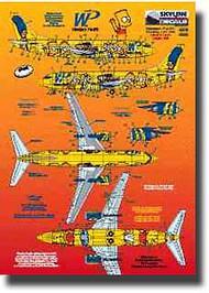Skyline Models  1/200 Boeing 737 Western Pacific Simpsons SKY20034