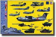 Skywave  1/700 JSDF Aircraft Modern West Wing #2 SKYS10