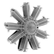 Small Stuff Models  1/48 Clerget 9B/Z (130/110 hp) (74 Parts) SST48102