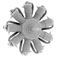 Small Stuff Models  1/48 Oberursel Ur.II (110 hp) (56 Parts) SST48107