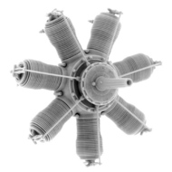 Small Stuff Models  1/48 Gnome 7 Lambda / Oberursel U.0 (80 hp) (37 Pa SST48108