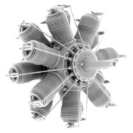 Small Stuff Models  1/48 Gnome 14 Lambda-Lambda / Oberursel U.III (160 SST48109