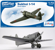 Small Stuff Models  1/72 Sukhoi I-14 with DECAL! SST72001
