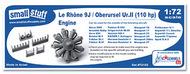 Small Stuff Models  1/72 Le Rhone 9J/Oberursel Ur.II (110hp)(29 parts) SST72103