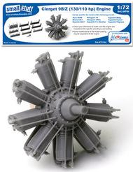 Small Stuff Models  1/72 Clerget 9B/Z (130/110 hp) (56 parts) SST72104