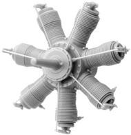Small Stuff Models  1/72 Gnome 7 Lambda/Oberursel U.0 (80 hp)(30parts) SST72106