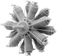 Small Stuff Models  1/72 Oberursel U.III (160 hp) (58 parts) SST72107