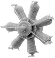 Small Stuff Models  1/72 Gnome 7 Omega (50 hp) (30 parts) SST72108