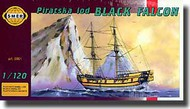 Smer Models  1/120 'Black Falcon' Pirate Ship SME901