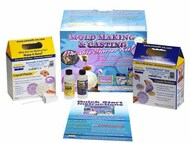 Mold Making & Casting Pourable Silicone Starter Kit #STH82121