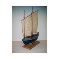 Sinagot 2-Masted 1943 Morbihan Oyster Fishing Boat #SLW1040