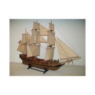 SOCLAINE WOOD SHIP MODEL KITS  1/50 LeTonnant 3-Masted 1793 French Privateer Merchant Ship SLW1200