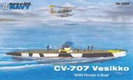Special Navy WWII Vesikko CV707 Finnish U-Boat #SN72004