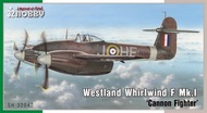 Special Hobby Kits  1/32 Westland Whirlwind F Mk.I 'Cannon Fighter' SHY32047
