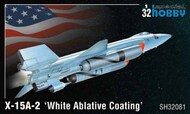 X-15A-2 White Ablative Coating High Speed Aircraft #SHY32081