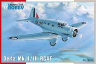 Special Hobby Kits  1/72 Delta Mk. II/ III RCAF SHY72351