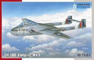 DH.100 Vampire Mk.I  'RAF, RAAF and ArmTe de l'Air' #SHY72383DAM