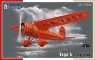 Lockheed Vega 5 lady Lindy Amelia Earhart Aircraft #SHY72422