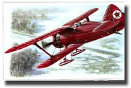 Special Hobby Kits  1/48 Polikarpov I15 Red Army Soviet Fighter w/Skis SHY48023