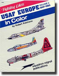 Squadron/Signal Publications   USAF Europe '47-63- Net Pricing SQU6563