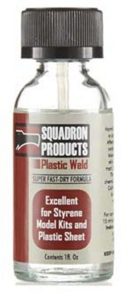 1oz. Bottle Plastic Weld w/Applicator Brush #SQT9070