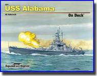 Squadron/Signal Publications   N/A USS Alabama On Deck SQU5601