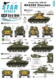 Korean War M4A3E8 Sherman Tigerface #35-C1044