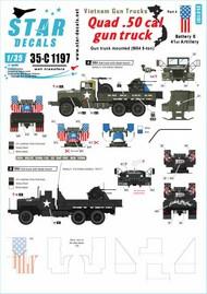 Vietnam Gun Trucks # 4.Quad .50 cal gun truck (M54 5-ton) #35-C1197