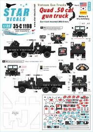 Vietnam Gun Trucks # 5.Quad .50 cal gun truck (M54 5-ton) #35-C1198