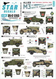 Allied M3A1 White Scout Car.Italy 1943-45 #35-C1203