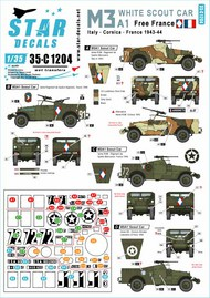 French M3A1 White Scout Car #35-C1204
