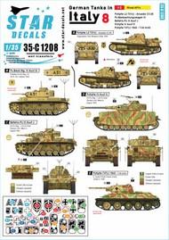 German tanks in Italy # 8. Mixed AFVs Ansaldo CV #35-C1208