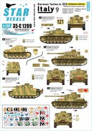 German tanks in Italy # 9. Hermann Goering #35-C1209