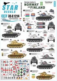 German tanks in Norway & Finland # II 35-C1214