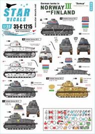 German tanks in Norway & Finland # III 35-C1215