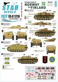 German tanks in Norway & Finland # IV 35-C1216