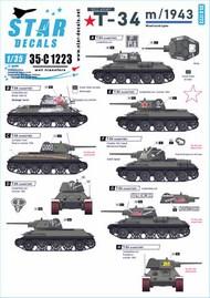 Red Army Soviet T-34 m/1943 35-C1223