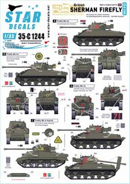 British Sherman Firefly.75th D-Day Special #35-C1244