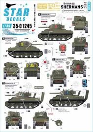 British Shermans. 75th D-Day Special. Sherman Mk I / Mk I Hybrid / Mk III #35-C1245