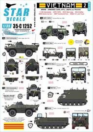 Vietnam 2.V-100 Commando, CMP C15TA, M151 Mutt #35-C1252