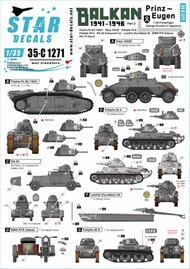 Star Decals  1/35 Balkan WW2 # 2 SRD35C1271