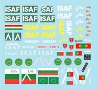 Star Decals  1/35 ISAF # 4 SRD35C1282