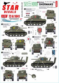 British Shermans. 75th D-Day Special #72-A1041