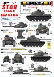Vietnam 1. M24 Chaffee, M41 Walker Bulldog and M48A3 Patton #72-A1042
